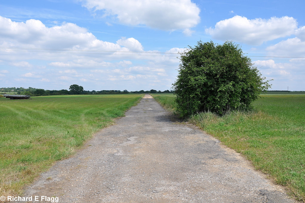 002Taxiway at the north of the airfield. Looking east - 25 June 2010.png