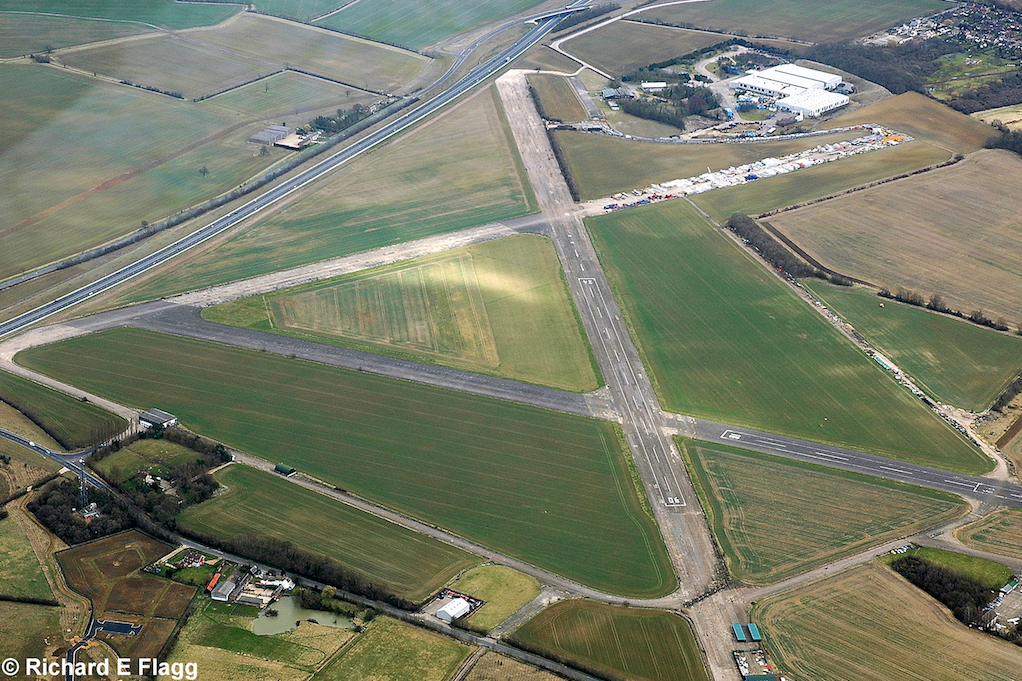 002Aerial View. RAF Bourn Airfield 2 - 14 March 2009.png