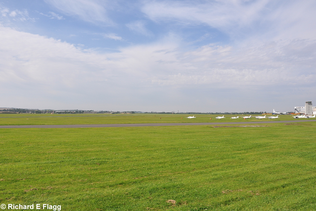 002Looking south across the airfield from near the Cambridge Flying Group Hangar - 1 August 2012.png