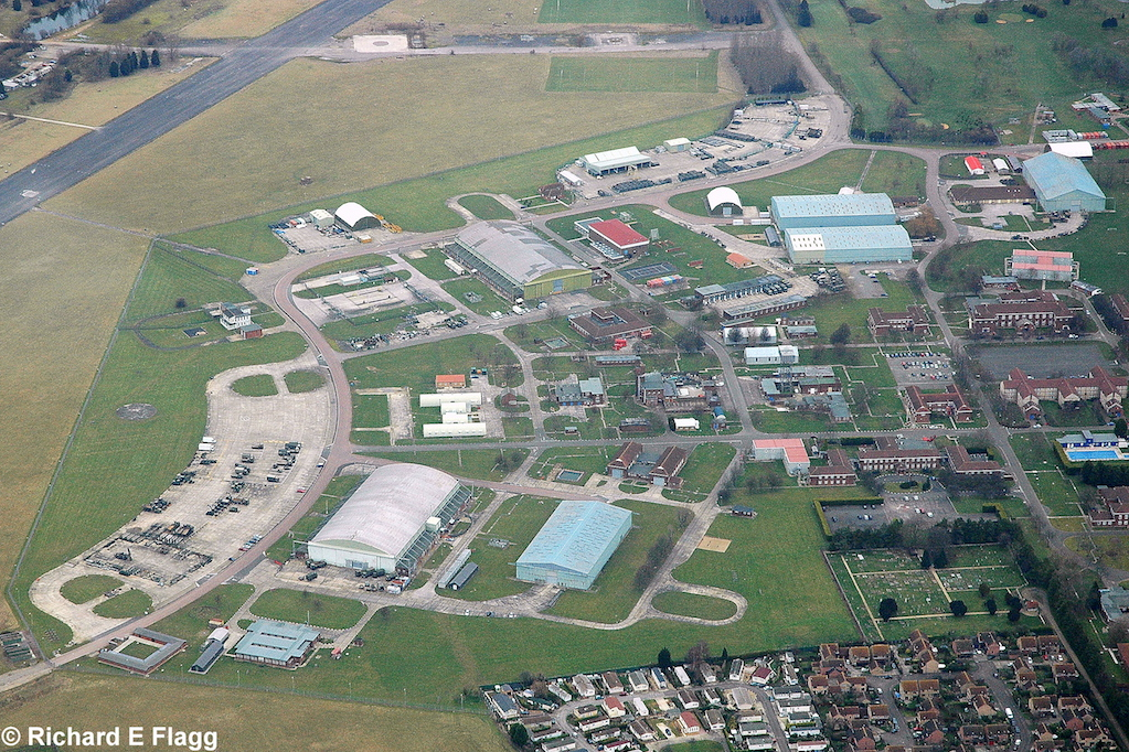 012Aerial View. RAF Waterbeach Airfield 3 - 4 January 2009.png