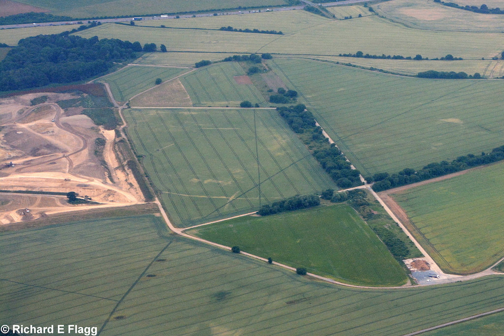 009Aerial View of RAF Great Dunmow Airfield 2 - 27 June 2017.png