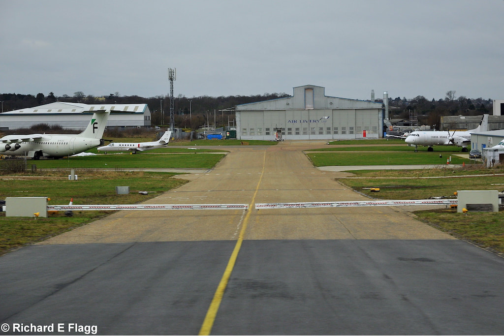 009Taxiway Delta. Looking north into the maintenance area - 15 February 2012.png