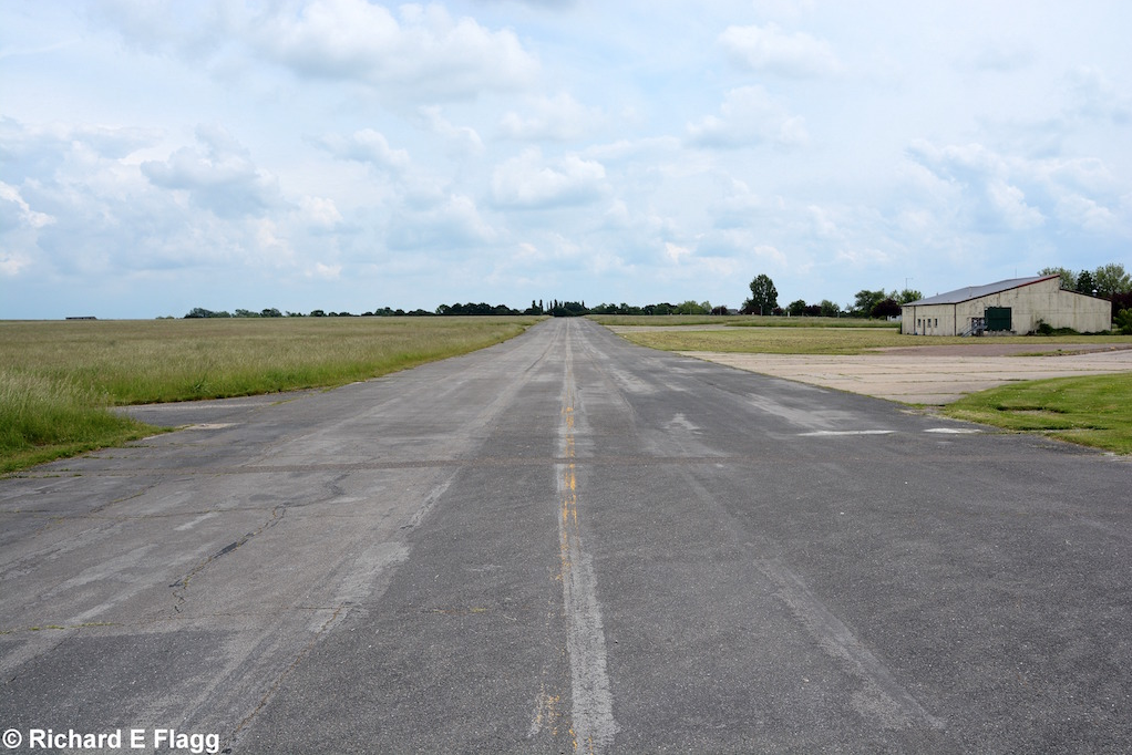 012Taxiway at the south of the airfield. Looking south east from near the the Fire Station - 11 June 2016.png