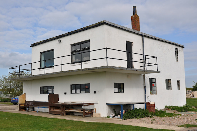 The Bomber Satellite Watch Office at Bardney, 15 May 2012. © Richard Flagg