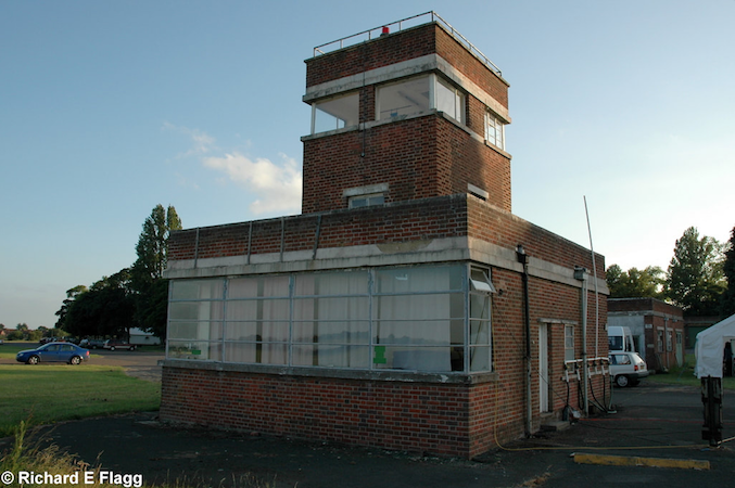 The Watch Office with Tower at Bicester, 28 June 2008. © Richard Flagg