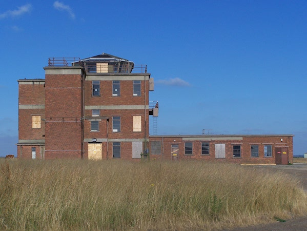 The Very Heavy Bomber Station Control Tower at Sculthorpe, 15 July 2006.