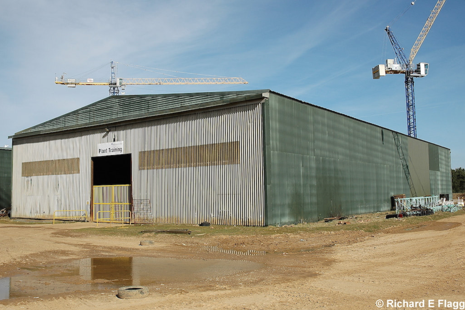 012Hangar : Bellman Aircraft Shed - 15 March 2009.png