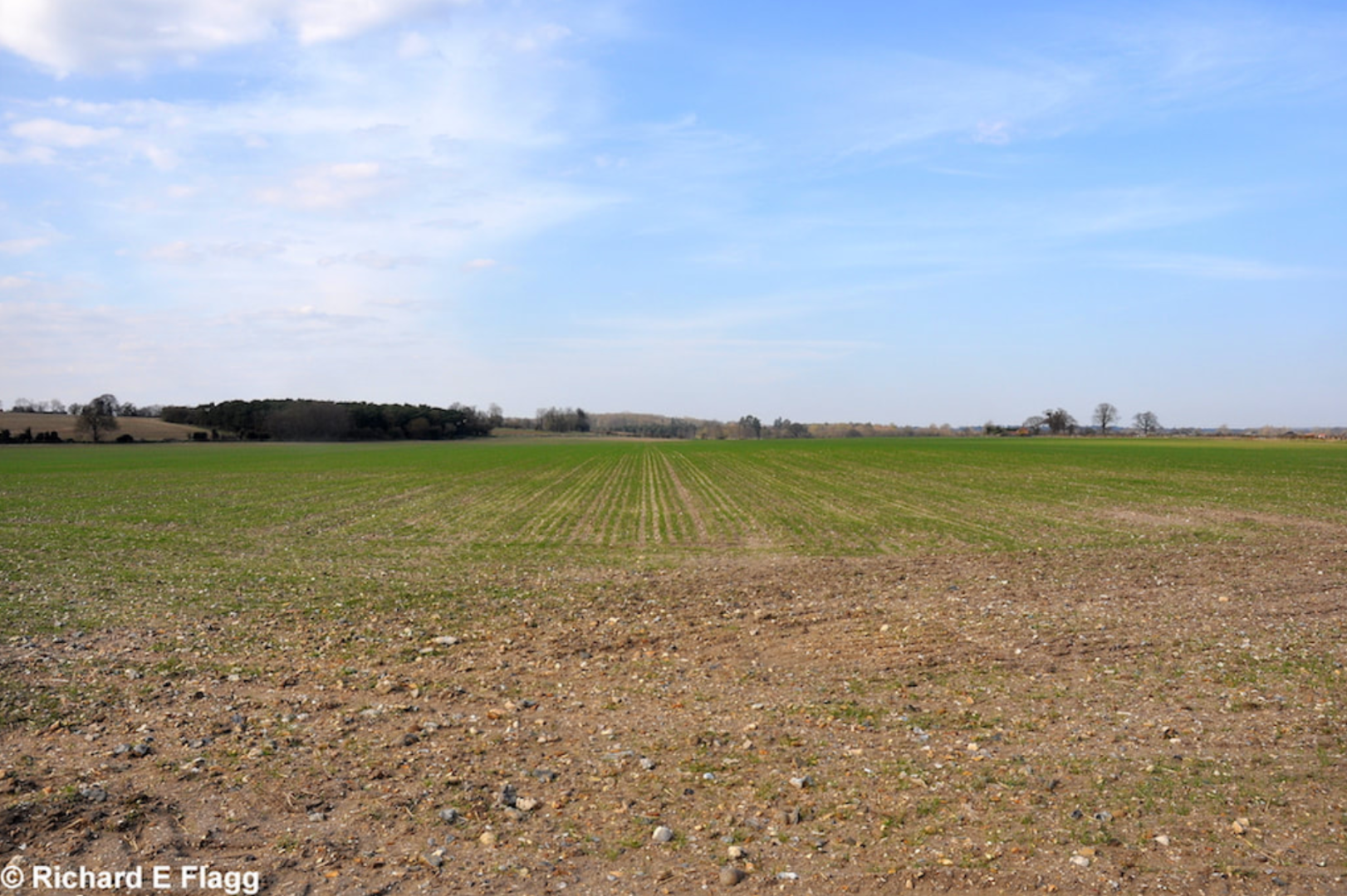 001View of the landing ground. Looking north from the A143 - 21 April 2013.png