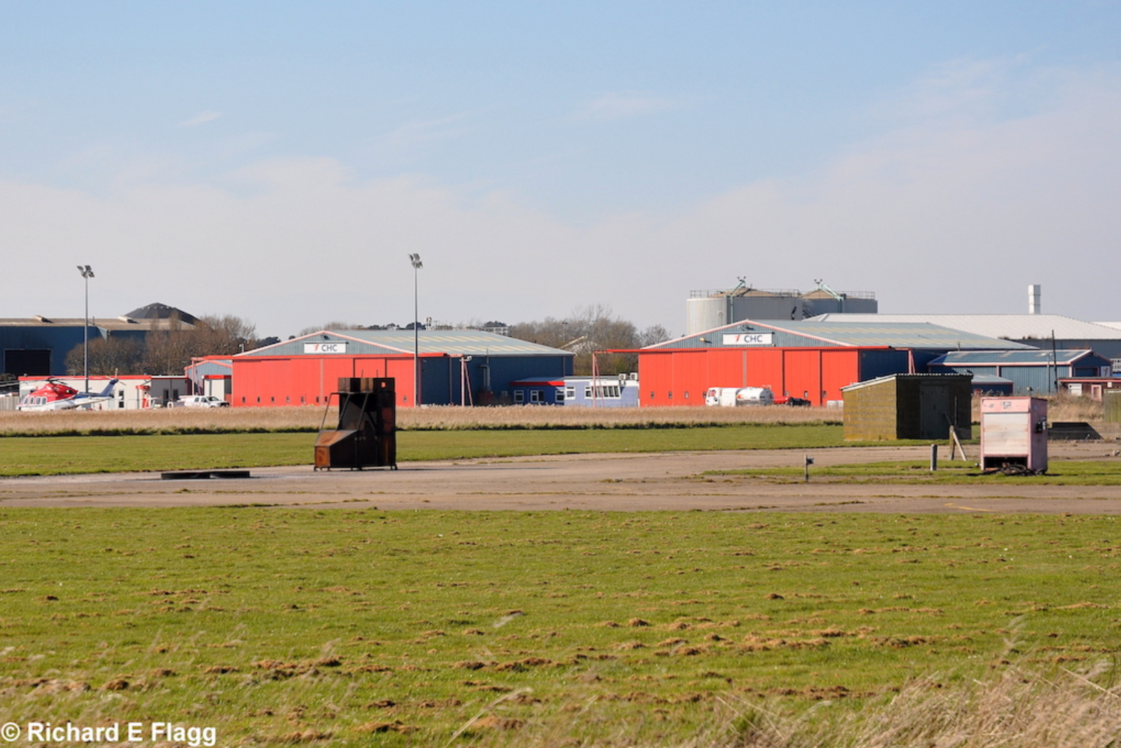 002Looking from near the control tower towards the hangars - 16 March 2014.png